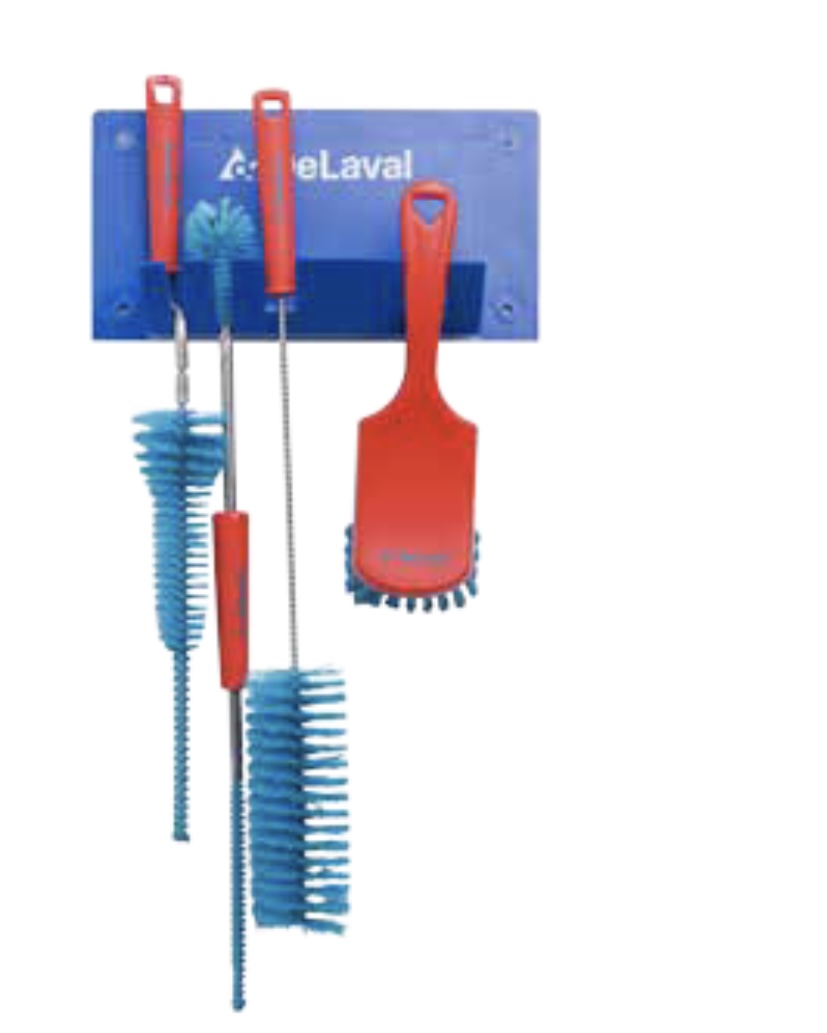 Delaval parlour cleaning brush